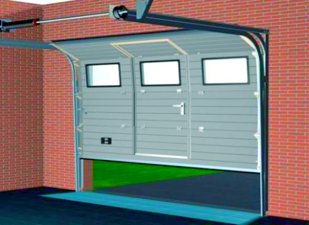 Самодельные автоматические ворота на гараж