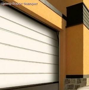Работа автоматических гаражных ворот