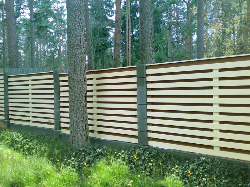 Деревянные заборы, установка заборов из дерева, фото деревянных заборов здесь!